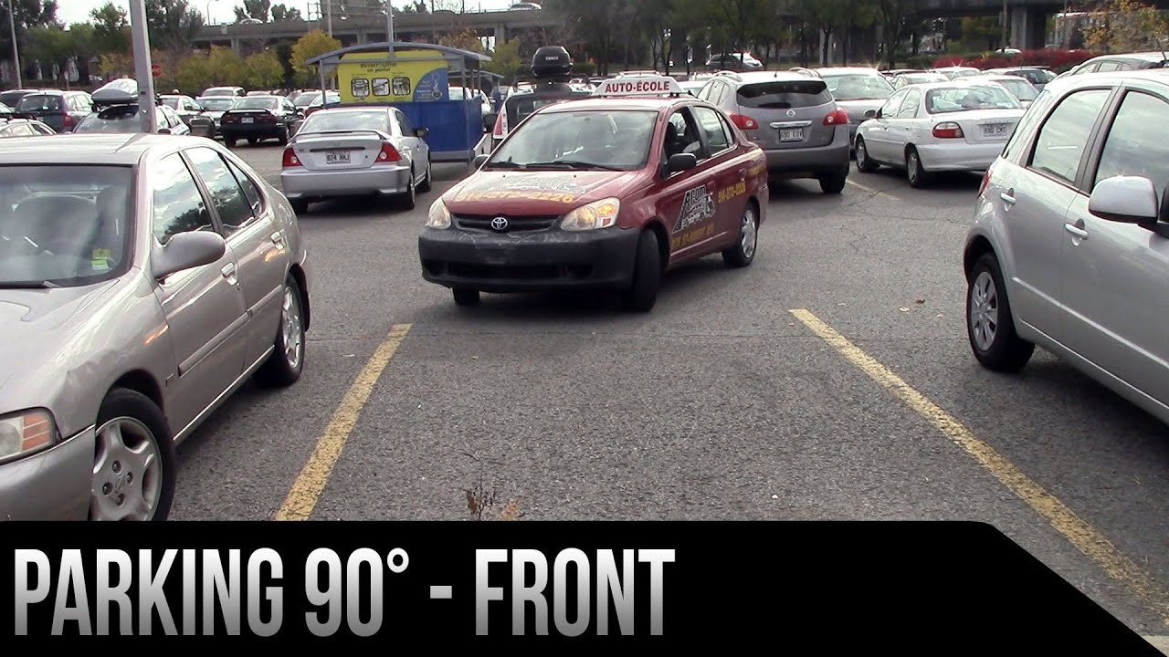 jak parkować prostopadle